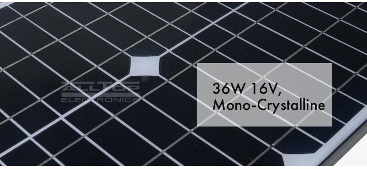 Adjustable Angle Outdoor Led Solar Street Light 40w 60w 100w