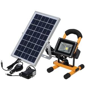 Solar Rechargeable Led Flood Light