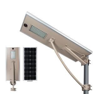 High Lumen Microwave Sensor Outdoor Solar Led Street Light