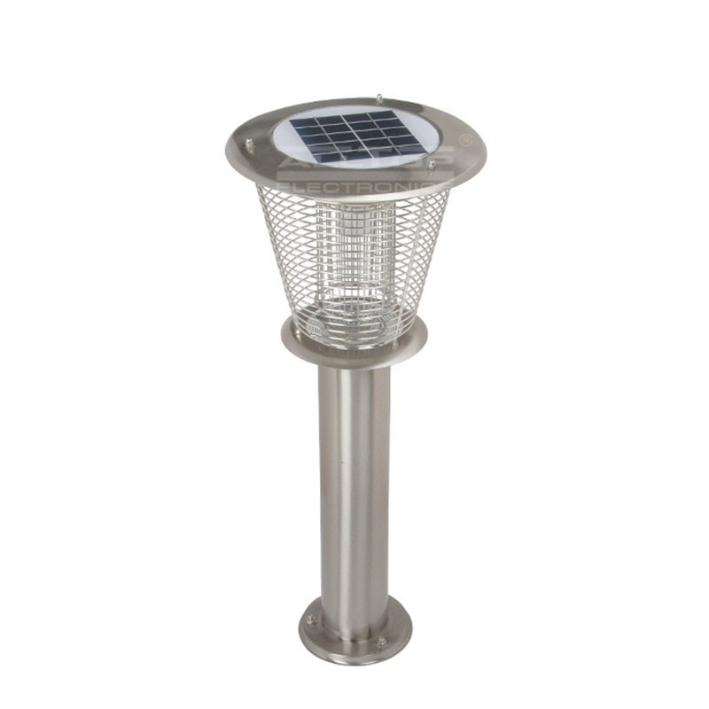Mosquito Killing Garden Outdoor 3w Solar Led Pillar Light