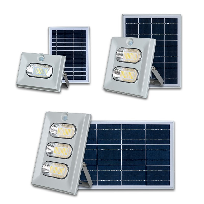ALLTOP Hot selling ABS waterproof outdoor solar led flood light