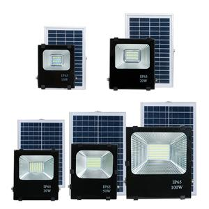 High lumen solar led flood light