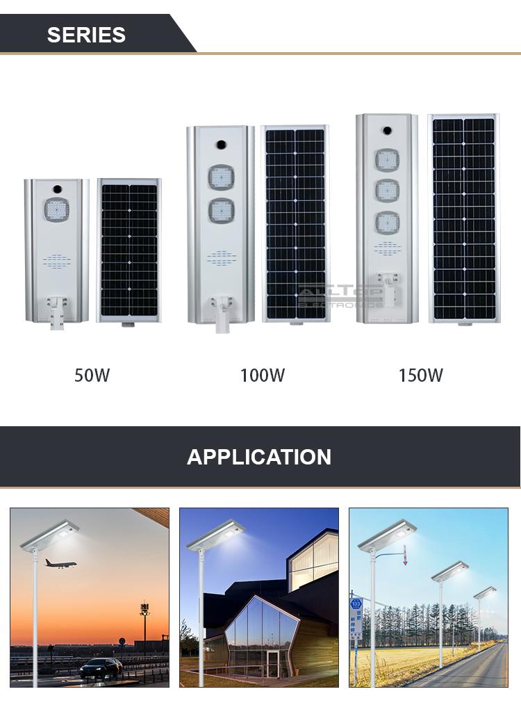 Adjustable Angle Outdoor Led Solar Street Light