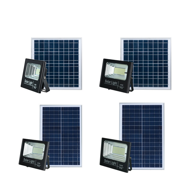 Hot selling ABS waterproof outdoor solar led flood light