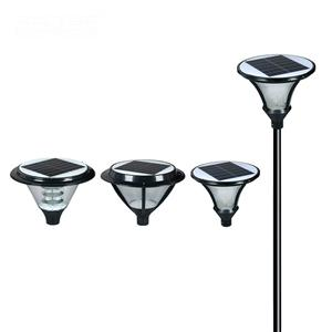 Outdoor lighting solar powered garden light