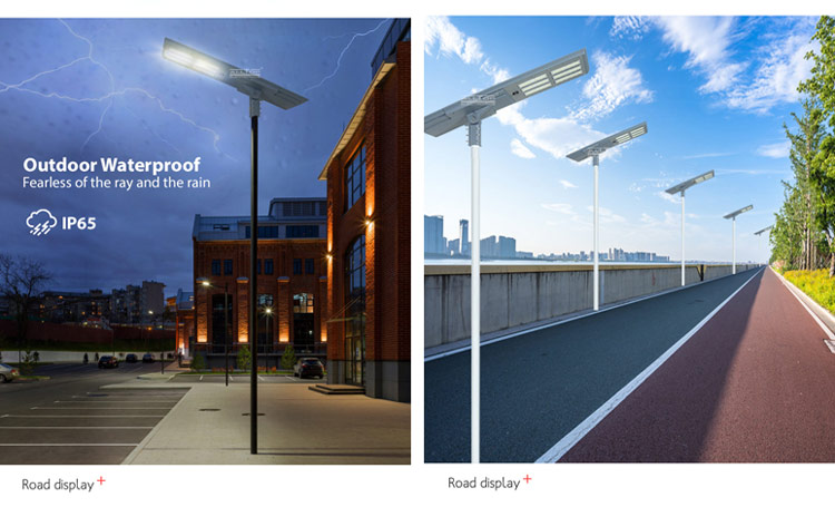 all in one solar led street light price
