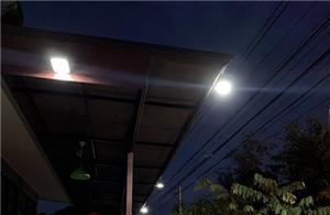 Energy saving waterproof garden outdoor 5w led solar wall light