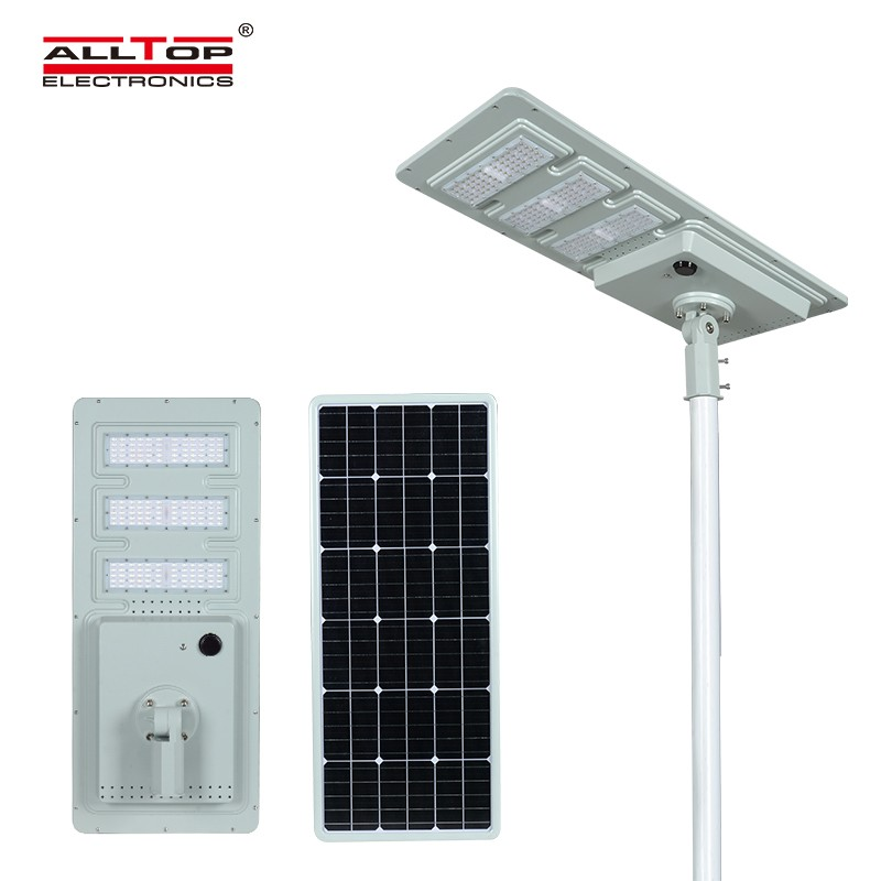 Motion sensor integrated Solar Street Light