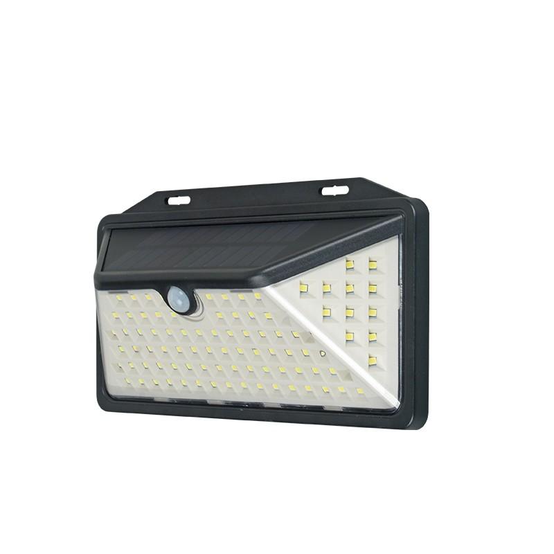 solar IP65 waterproof PIR sensor outdoor garden light solar wall lamp
