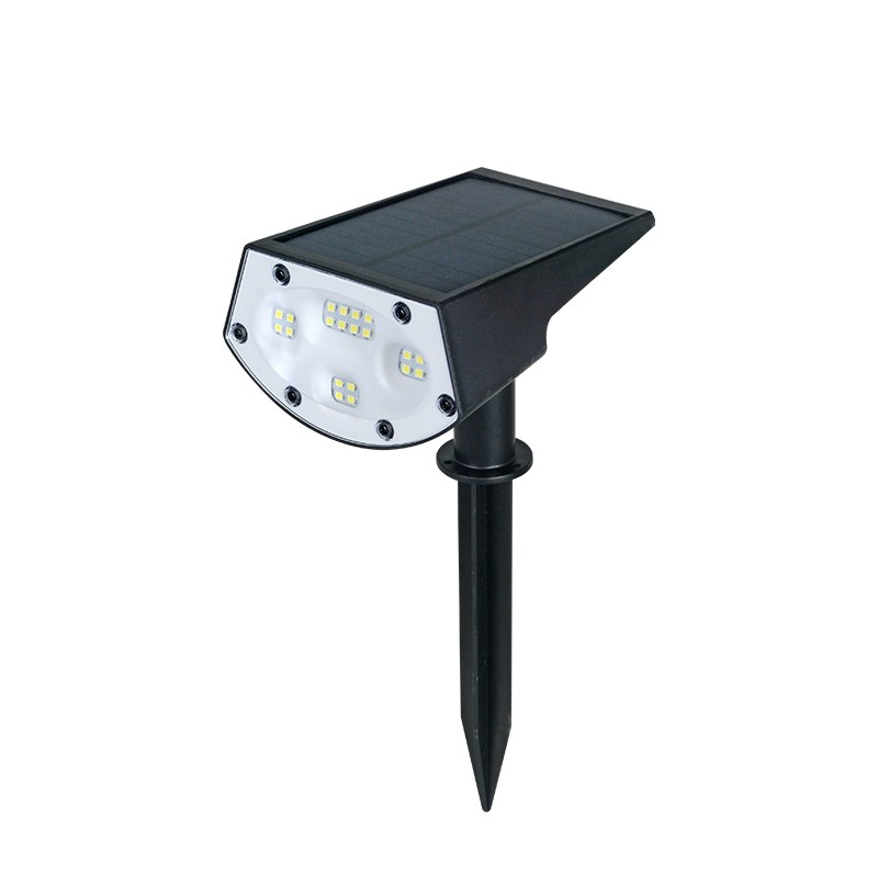 IP65 Waterproof Outdoor LED Solar Rotating Garden Light