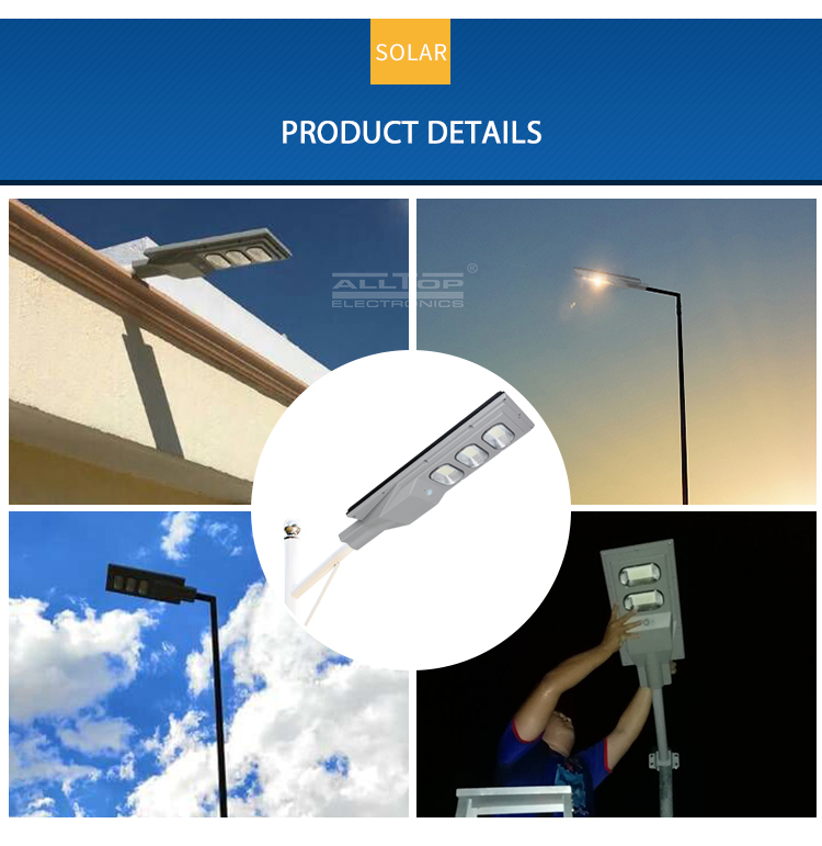 street light solar led lights