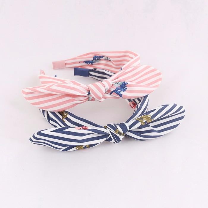 Fashion Silk Fabric Bow Hairband For Women