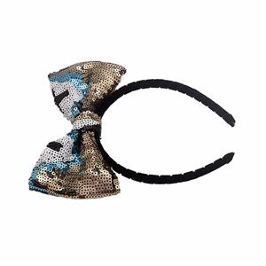 Classic Sequin Bow Headband Fashion Women Vintage Hairband Manufacturers, Classic Sequin Bow Headband Fashion Women Vintage Hairband Factory, Classic Sequin Bow Headband Fashion Women Vintage Hairband