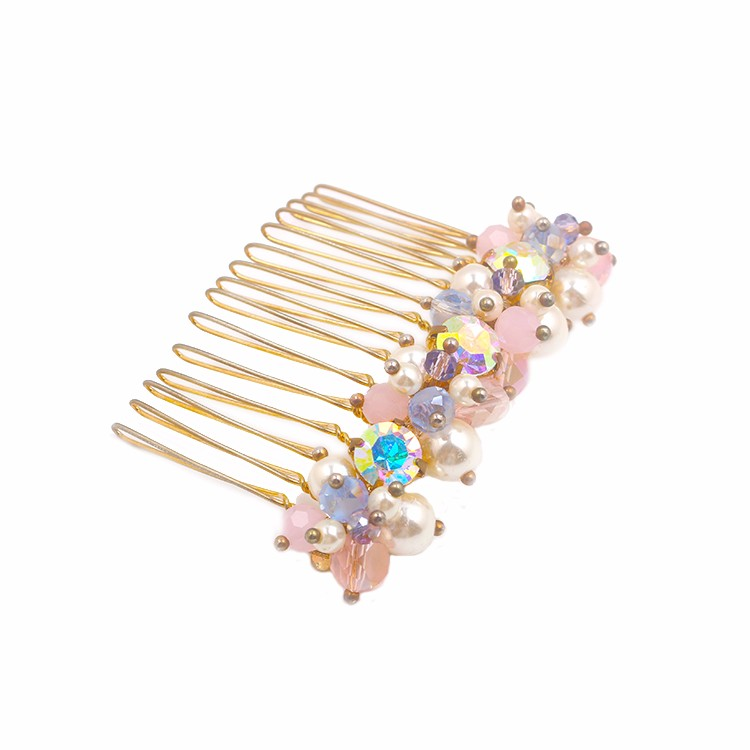 Charming Crystal Comb Women Beads Comb Manufacturers, Charming Crystal Comb Women Beads Comb Factory, Charming Crystal Comb Women Beads Comb