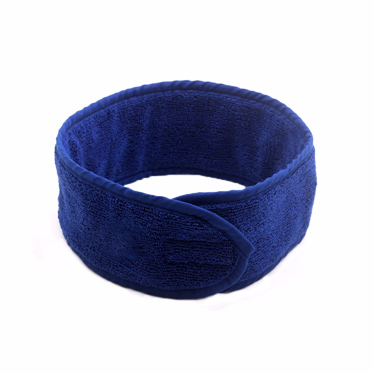Wholesale Cotton Terry Towel Headband Custom Embroidery Headband Spa Hairband Makeup Headband