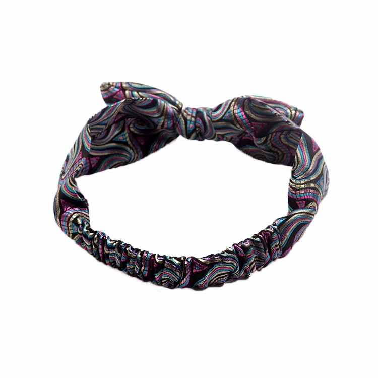 Charming Jacquard Headband Pattern Bow Headband Manufacturers, Charming Jacquard Headband Pattern Bow Headband Factory, Charming Jacquard Headband Pattern Bow Headband
