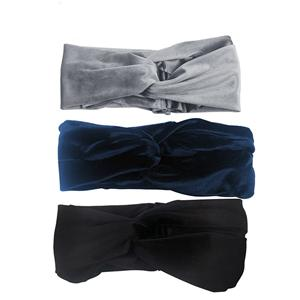New Design Fashion Velvet Double Layers Headwrap Charming Recycle Headwrap