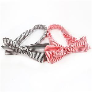 Handmade Cotton Bow Headband Women Large Bow Headband