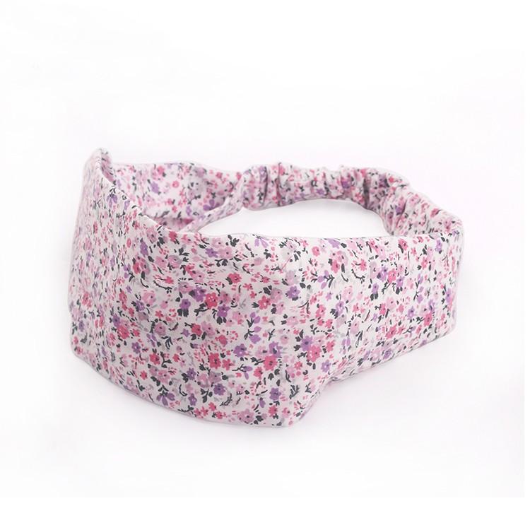 Stylish Pink Floral Pattern Head Wrap Headband For Women Manufacturers, Stylish Pink Floral Pattern Head Wrap Headband For Women Factory, Stylish Pink Floral Pattern Head Wrap Headband For Women