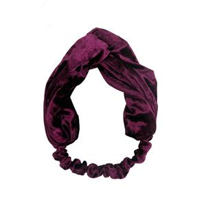 Handmade Velvet Hair Headband Women Winter Hairband