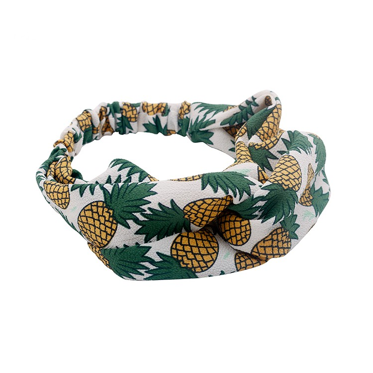 Hot Selling Pineapple Pattern Fashion Turband Head Wrap Women Fashion Headband Manufacturers, Hot Selling Pineapple Pattern Fashion Turband Head Wrap Women Fashion Headband Factory, Hot Selling Pineapple Pattern Fashion Turband Head Wrap Women Fashion Headband