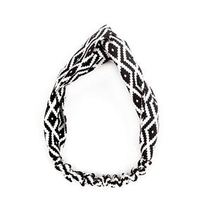 Fashion Pattern Fancy Hair Band Women Unique Pattern Cross Headband