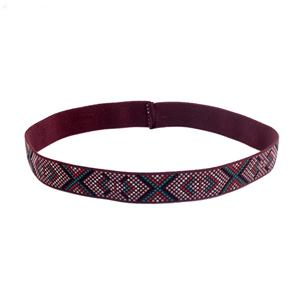 Unique Woven Ethnic Head Wraps Fashion Elastic Headband For Women