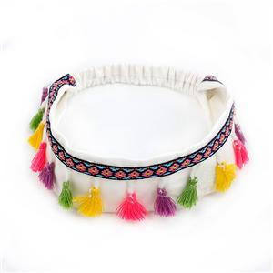 Wholesale Tassels Headband Colorful Bohemian Headband