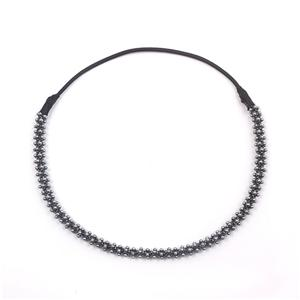 Wholesale Beads Braid Headband Women Bead Headwrap