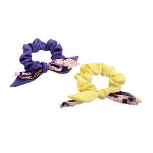 Charming women bunny ear hair scrunchy