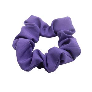 Plain hair scrunchy women solid color hair tie Manufacturers, Plain hair scrunchy women solid color hair tie Factory, Plain hair scrunchy women solid color hair tie
