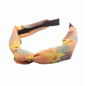 Women bohemia pattern RPET material knot headband Manufacturers, Women bohemia pattern RPET material knot headband Factory, Women bohemia pattern RPET material knot headband