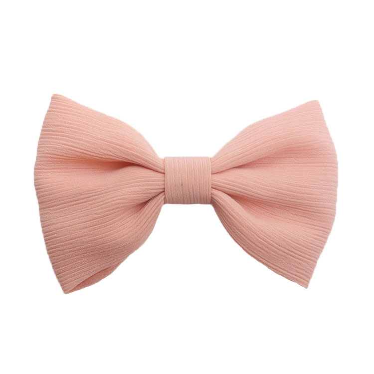 Fabric Bow with Metal Alligator Clip Fashion Hair Clip