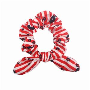 Unique recycled material hair scrunchy women scrunchy