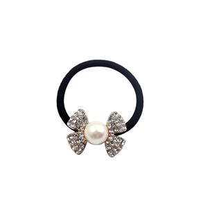 Rhinestone Elastic Hair Tie Fashion fake stone elastic hair scrunchy