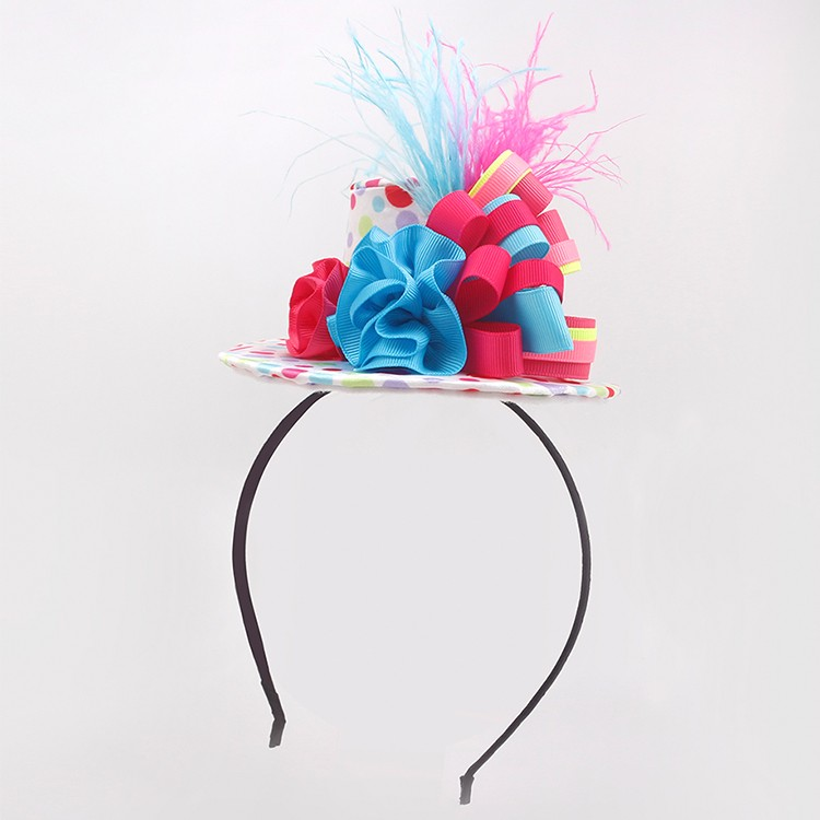 Hot sale party headband girls hat shape headband