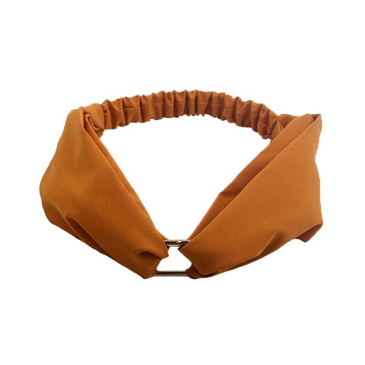 Wholesale metal cross headband women solid head wrap