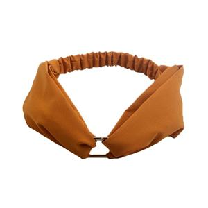 Wholesale metal cross headband women solid head wrap