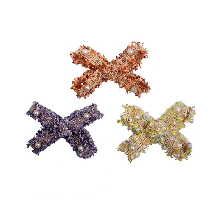 Girls bow tie hair clip unique bow hair pin