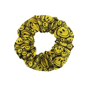 EMOJ Pattern hair scrunchy