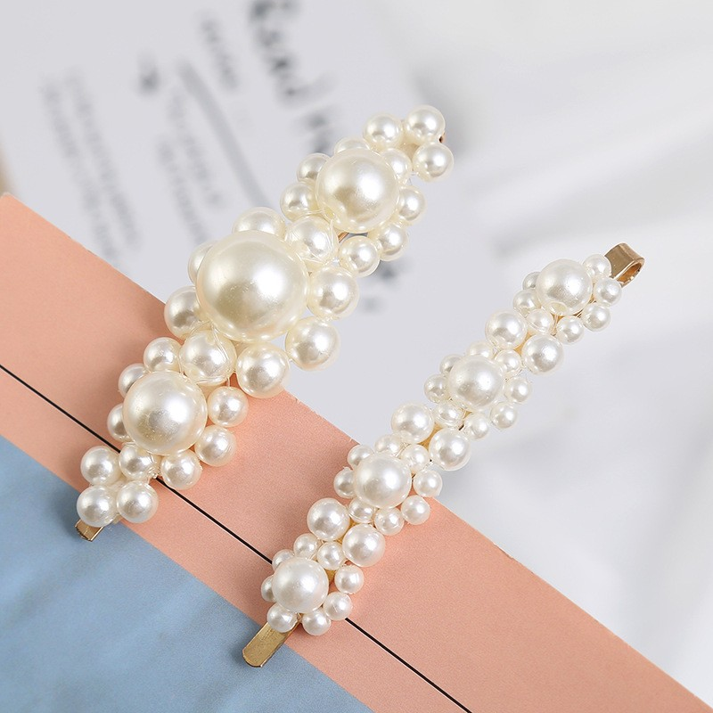 Charming peral hair clip for women