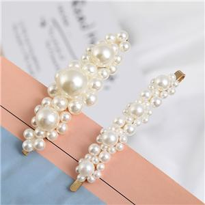 Charming peral hair clip for women