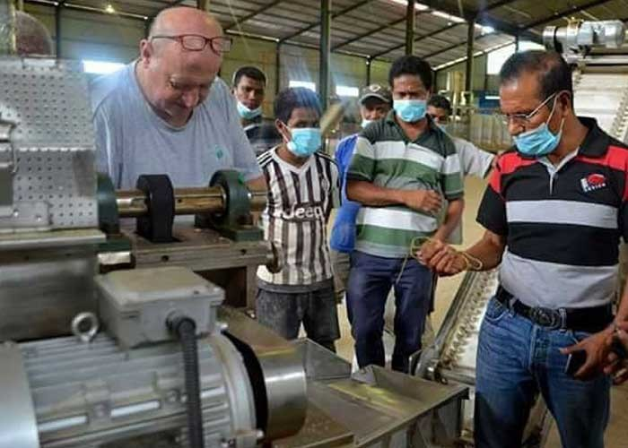 Debugging Machine in East Timor customer's Factory