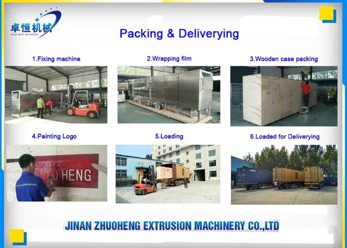Packaging & Shipping of Machine