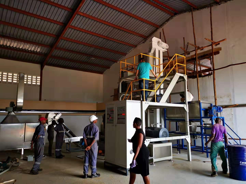 fish feed production machine in nigeria