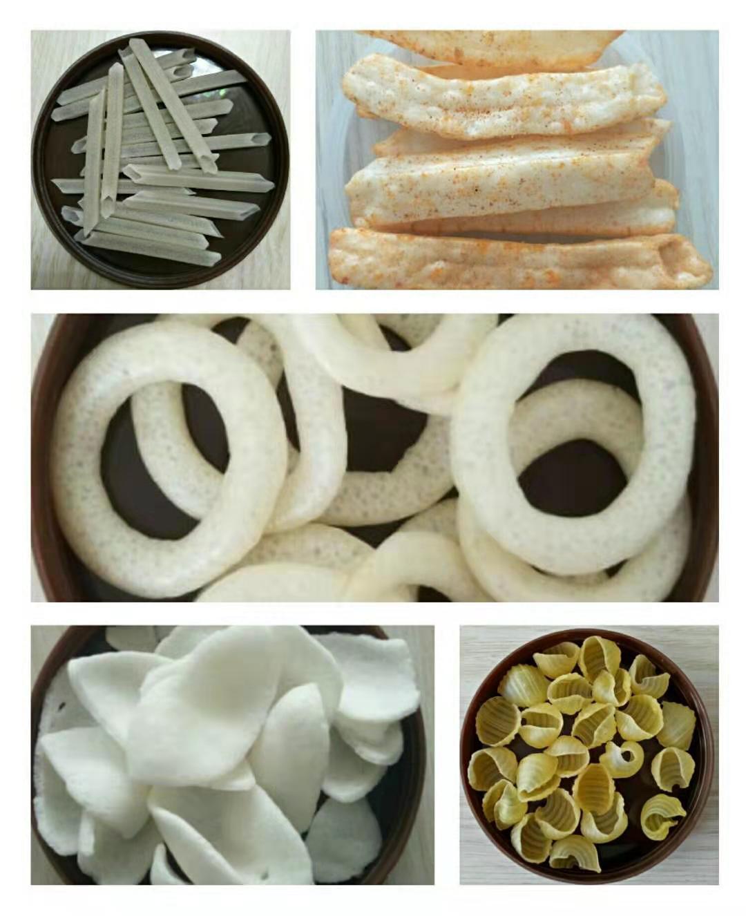 Puff snack food making machine