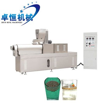 Floating Fish Feed Pet Food Pellet Machine Processing Plant