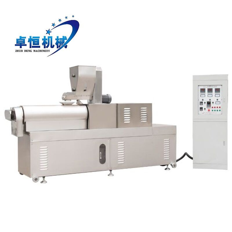Industrial Corn Puff Snacks Food Extruder Machine Processing line