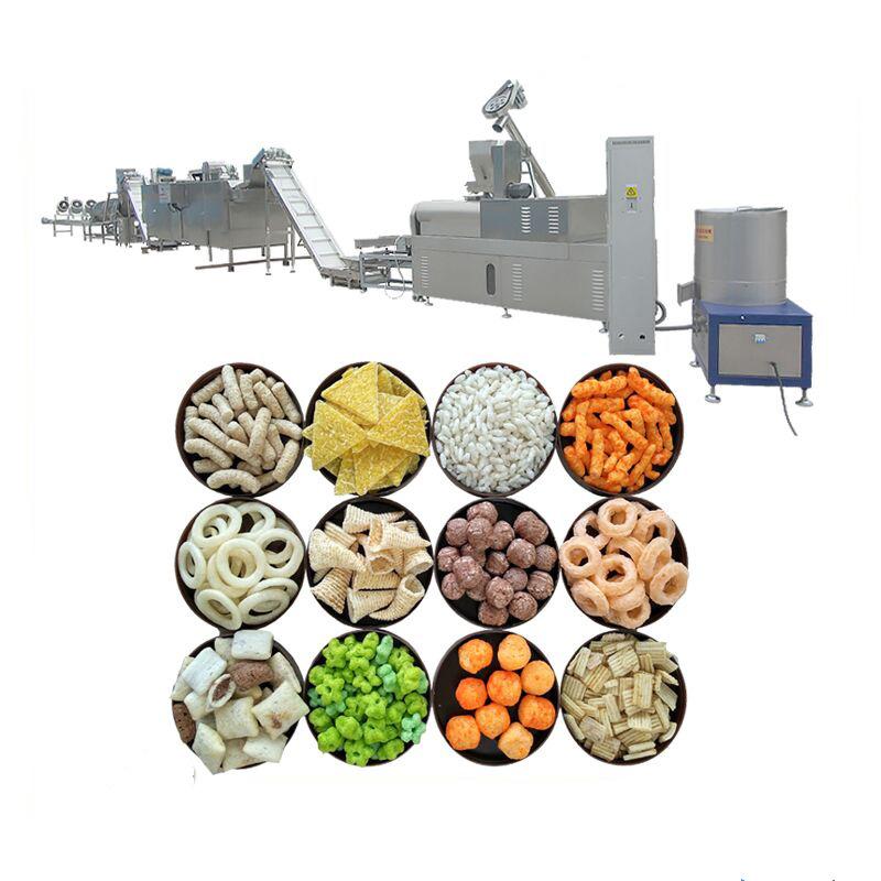 Puffed snack food making machine