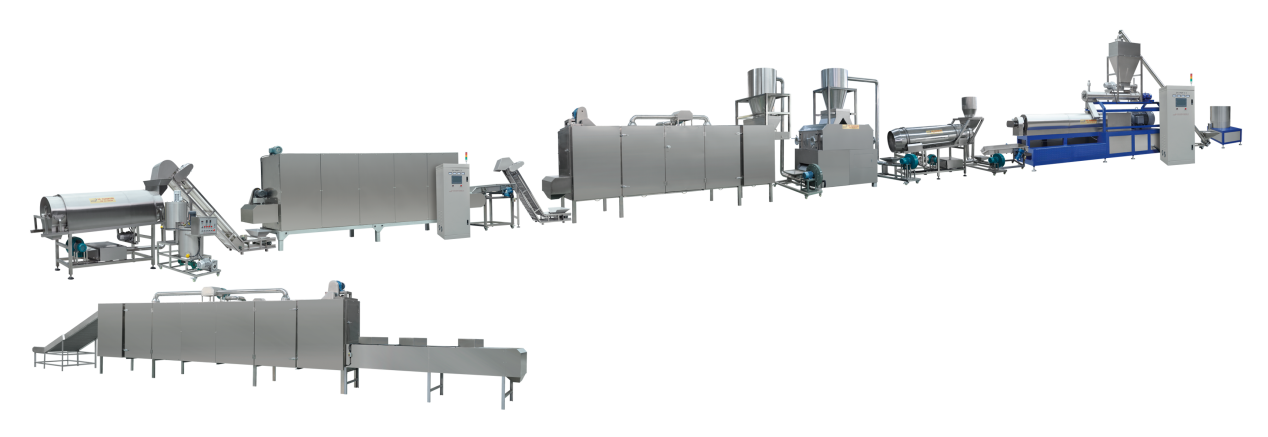 supply fish feed production plant